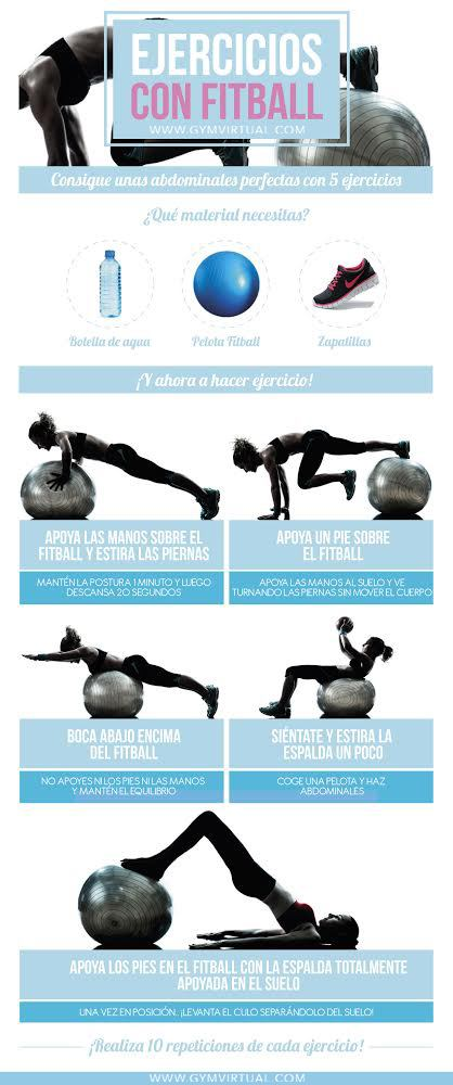 EJERCICIOS CON FITBALL 2
