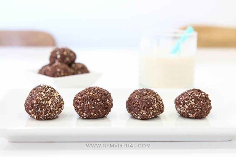 Trufas de chocolate light
