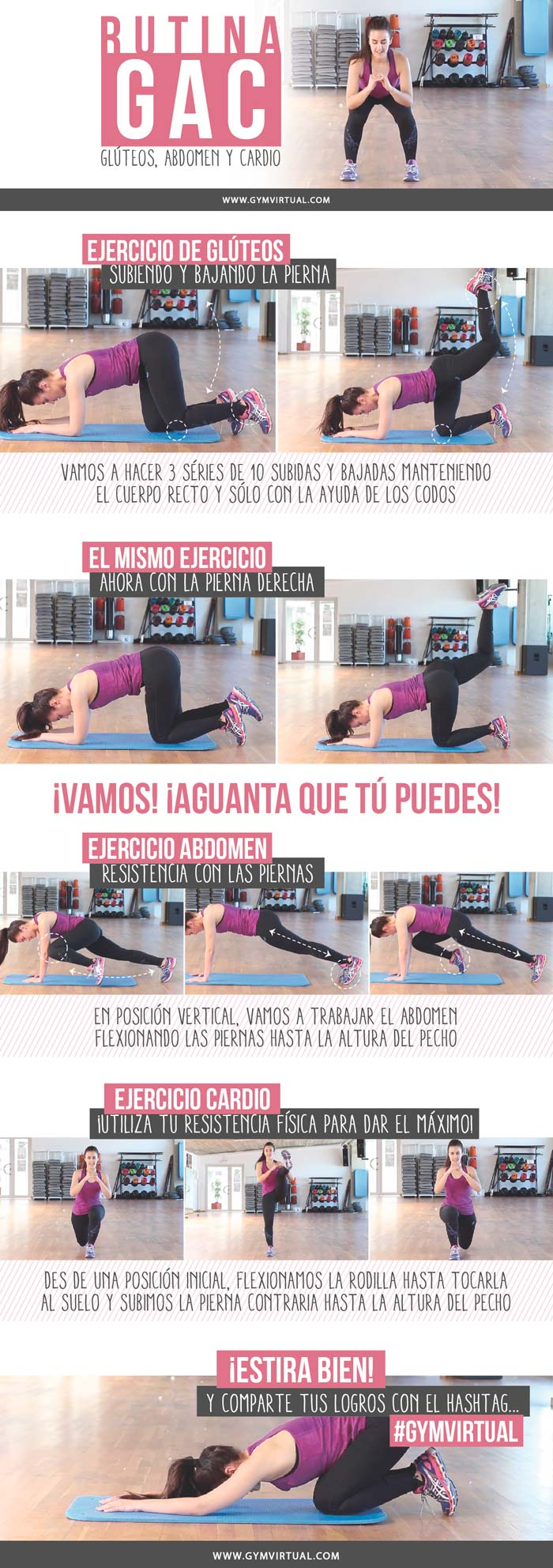 Gimnasio workout and entrenamiento on pinterest for Ejercicios gym